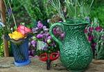 Flower Market Table Postarized