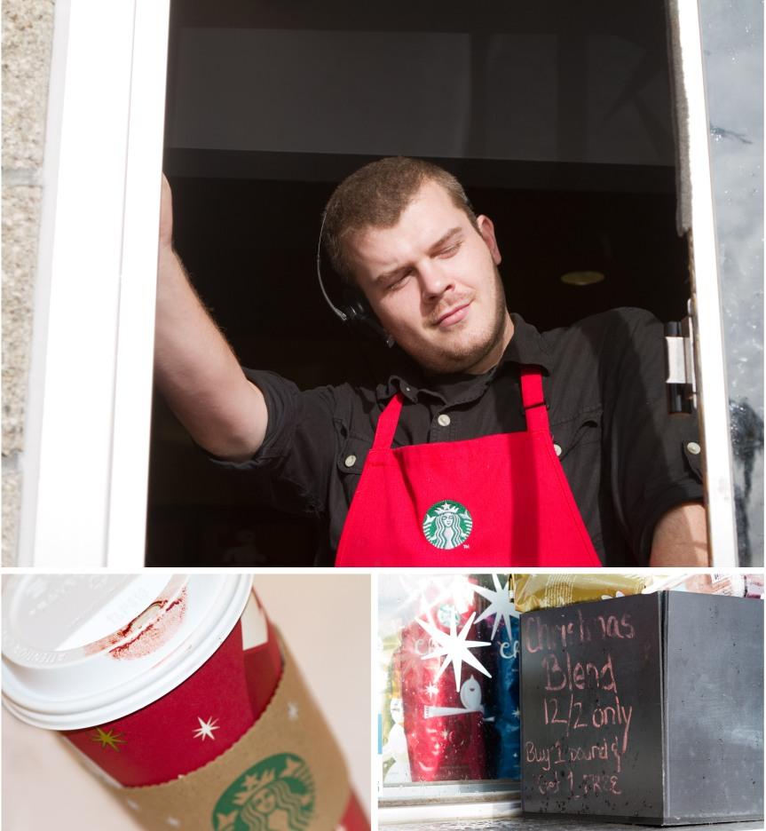 Blog - Starbucks collage