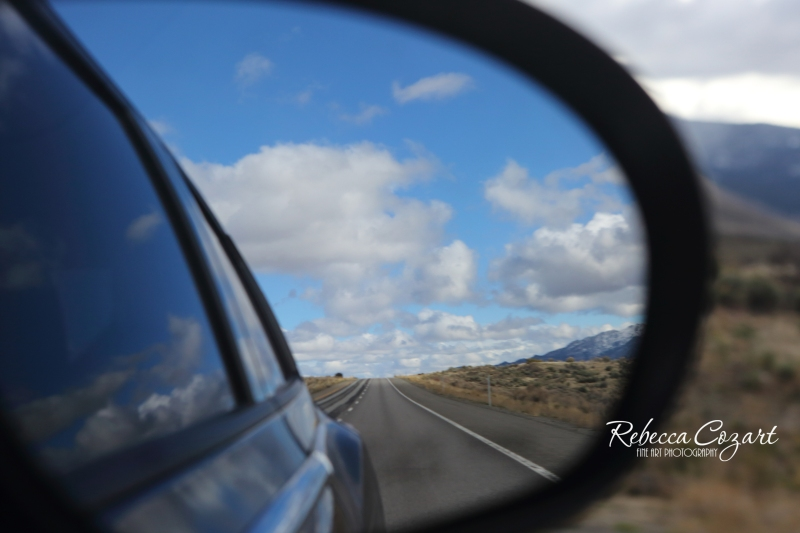 FB - Road in mirror