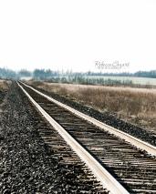 ODD -Railroad tracks vertical