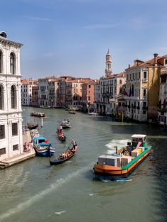 Odd - Boats on grand canal