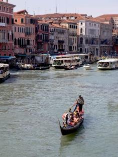Odd - Gondola on grand canal