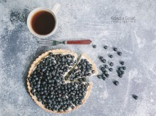 FOOD - Blueberry Tart 6