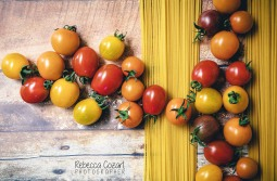 FOOD - Tomatoes and pasta
